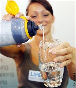 Agua potable en segundos