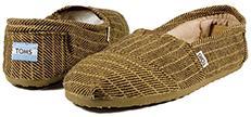 Daily que cuenta la historia de una empresa norteamericana llamada Toms Shoes que se puso a vender alpargatas (típico calzado argentino y uruguayo)