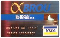 Tarjeta Alfa BROU (Visa)